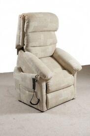 Recliner riser chair