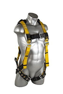 Guardian Fall Protection Seraph Safety Harness With Leg Tongue Bucklesxlargebl