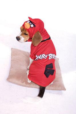 Angry Birds Red Bird Pet Halloween Costume (Hund Angry Bird Kostüm)