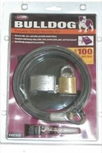 Bulldog Portable Media Security Kit #F8E502