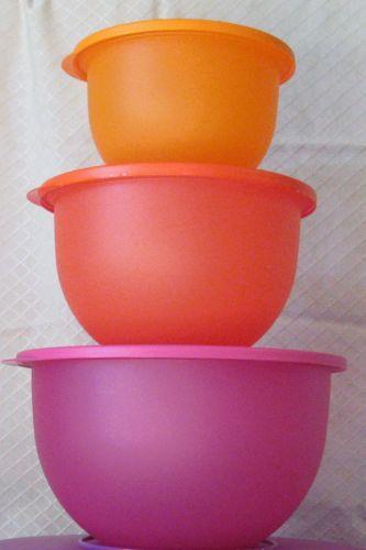 Tupperware Impressions Classic Bowl Set Ebay