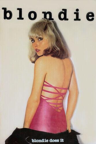 Blondie 1978 Ultra Rare Promo Poster print
