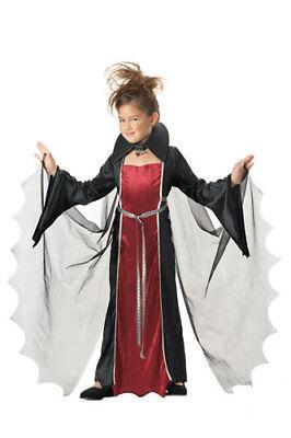 Child Vampire Girl Costume for Halloween - Halloween Costumes For Kid Girls