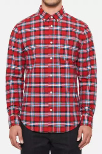 Five Four Mark McNairy Button Down Plaid Shirt NEW with Tags