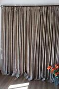 Brown Blockout Curtains