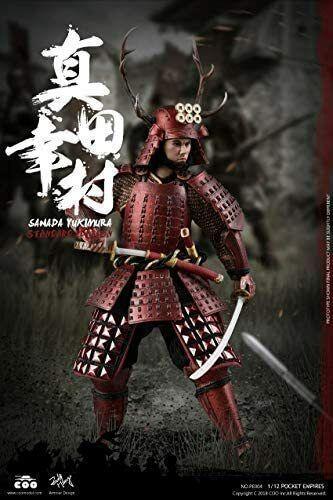 Palm Empire Japanese Samurai 1/12 warrior Yukimura Sanada action figure F/S