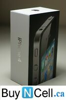 MINT iPHONE 4 16GB IN BOX + WARRANTY + ACCESSORIES