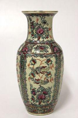 Vase China mit Vögel