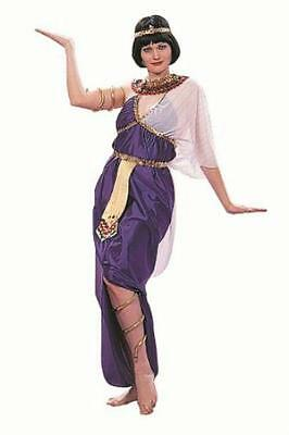 Deluxe Purple Cleopatra Adult Costume - Adult Deluxe Cleopatra Kostüm
