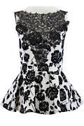 Ladies Peplum Dress Size 16