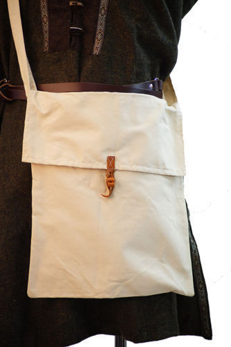Medieval-SCA-LARP-Reenactment-Cosplay-WATER MESSENGER COTTON BAG Two Sizes