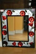 Large Black Shabby Chic Mirror