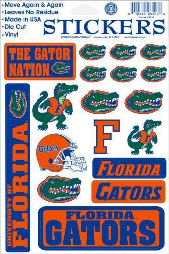 Florida Gator Stickers : Florida gators stickers ebay