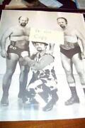 Vintage Wrestling Photo