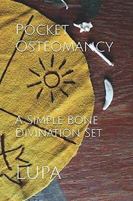 Pocket Osteomancy: A Simple Bone Divination Set casting cloth and bones and book