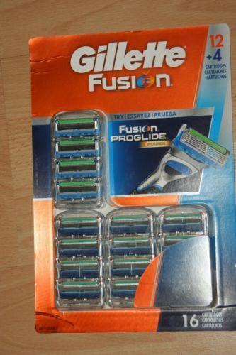 gillette fusion proglide manual cartridges 16 count