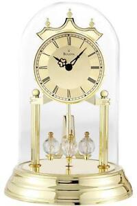 torsion clock. bulova anniversary clock torsion