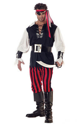 Adult Cutthroat Pirate Mens Halloween Costume](Halloween Pirate Costume)