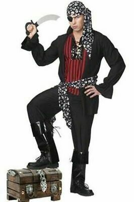 Male Pirate Halloween Costumes (NEW Coquette M6502 Male Pirate Men Halloween Costume Cosplay Last S/M)