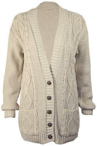 Womens Chunky Cardigan  be1241573
