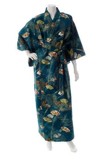 cotton kimono dressing gown ebay. Black Bedroom Furniture Sets. Home Design Ideas