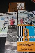 Newcastle United Programmes