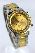 Ladies Gold and Silver Watch