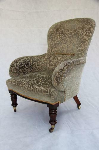 Antique Victorian Armchair Ebay