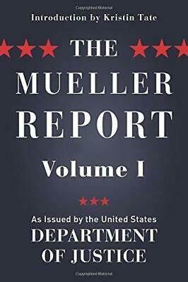 The Mueller Report: Volume I (Redacted) by Kristin Tate New Paperback Book