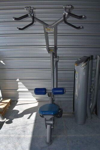 Hoist Roc-It Selectorized Lat Pull Down Machine