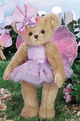 "14"" PLUSH BEAR  ""FELICITY FAIRYTALE"" #143297  BEARINGTON COLLECTION 2015"
