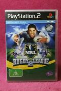 Rugby League PS2 Game