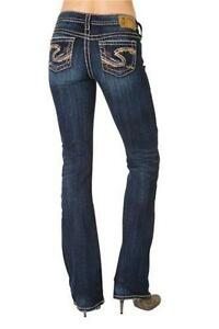 5cde4bc75f5 Plus Size Silver Jeans 24