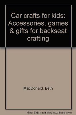 January Crafts For Kids (Car crafts for kids: Accessories, games & gifts for backseat crafting [Jan 01,)