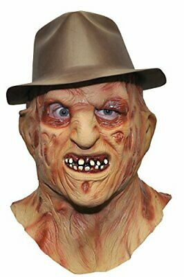 Deluxe Freddy Mask Costume Accessory Freddy Deluxe Latex Mask