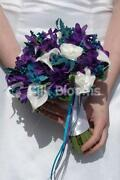 Wedding Bouquet Teal