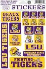 LSU Tigers Stickers