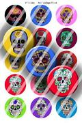 Skull Bottle Cap Images