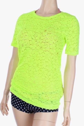 Neon color t shirt ebay for Bulk neon t shirts
