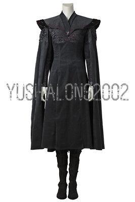 Dany Targaryen Kostüme (Game of Thrones S 7 Daenerys Targaryen Dany Cosplay Kostüm  Costume Schuhe NEU)