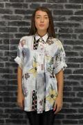 Womens Vintage Patterned Shirt