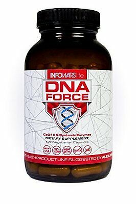Alex Jones Infowars Dna Force Coq10 Bio Pqq Great Product