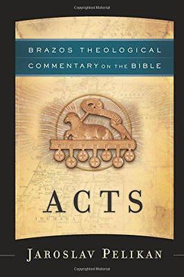Acts (Brazos Theological Commentary on the Bible) by Pelikan, Jaroslav | Paperba