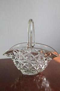 Crystal Basket Ebay