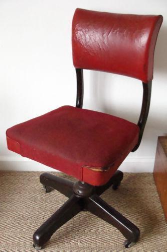 vintage office swivel chair ebay. Black Bedroom Furniture Sets. Home Design Ideas
