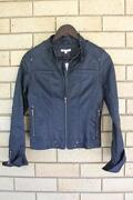 Ladies Leather Jacket Size 8