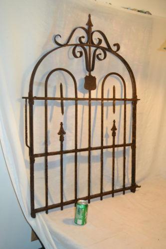 Antique Iron Gate Ebay