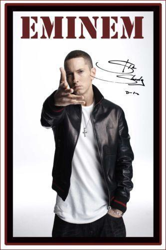 Vintage Eminem Poster