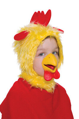 Farm Chicken Child Mask and Hood for Halloween Costume](Farm Animal Costumes For Kids)