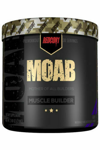Redcon1 MOAB Muscle Builder 30 Servings - ALL FLAVORS FREE FAST SHIPPING